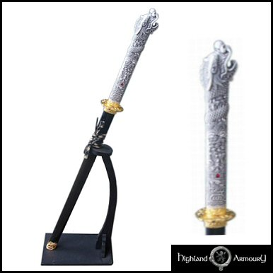 Highlander - Connor MacLeod Samuria Sword (Straight Blade)