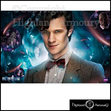 Dr Who The Doctor BBC large Official Poster MAXI