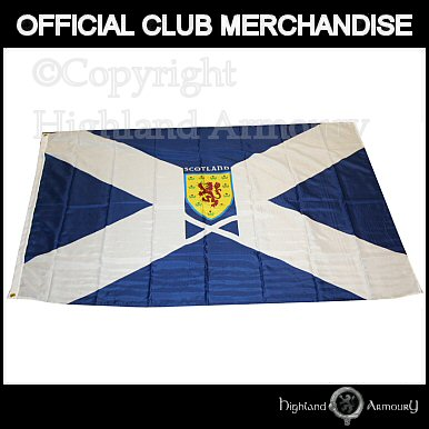 SFA Scotland Official Football Saltire Flag 5ft x 3ft