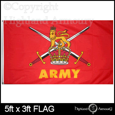 5' x 3' FLAG Army British Military Armed Forces Large