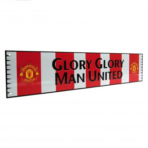 Manchester United F.C. Bar Scarf Sign