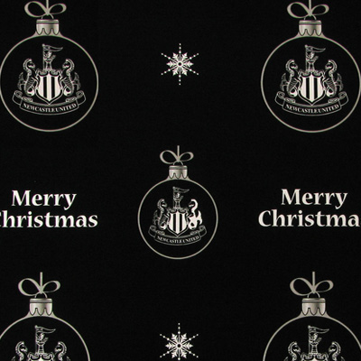 Newcastle United F.C. Christmas Gift Wrap BB