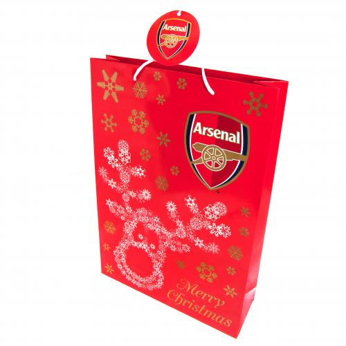 Arsenal F.C. Christmas Gift Bag Medium RS