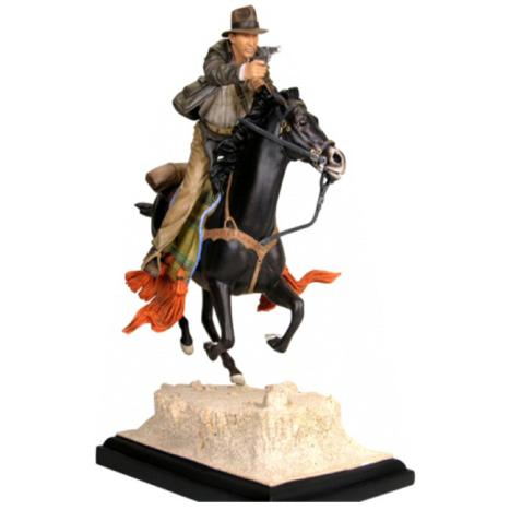 Indiana Jones - Indy On Horse Statue